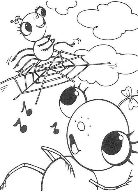 cute spider coloring pages 556 best images about coloring pages activites on pinterest
