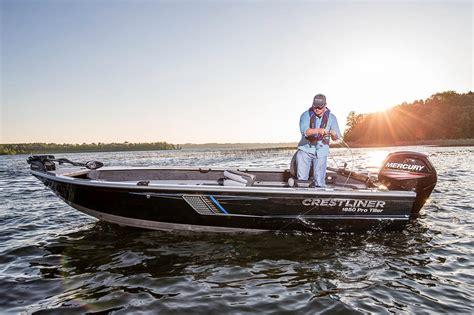 new fishing boats near me 2016 new crestliner 1850 pro tiller aluminum fishing boat
