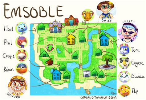 town layout guide new leaf animal crossing new leaf town layout map