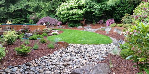 Rock Garden Bellevue Rock Garden Bellevue Alpine Rock Garden Bellevue Botanical Garden Washington Stock Photo