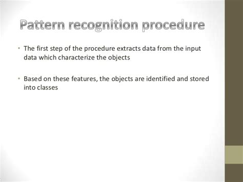 statistical pattern recognition in artificial intelligence artificial intelligence pattern recognition system