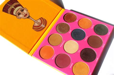 Eyeshadow Juvia S Place juvia s place nubian 2 yellow eye shadow palette review swatche