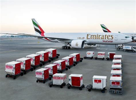 emirates revels in record profits but cargo yield on the slide ǀ air cargo news