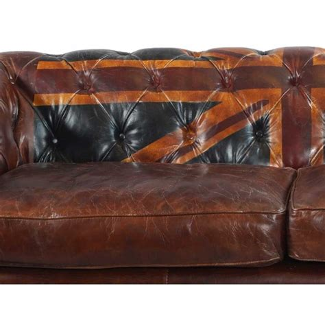 union chesterfield sofa vintage echtleder chesterfield sofa union ledersofa 3