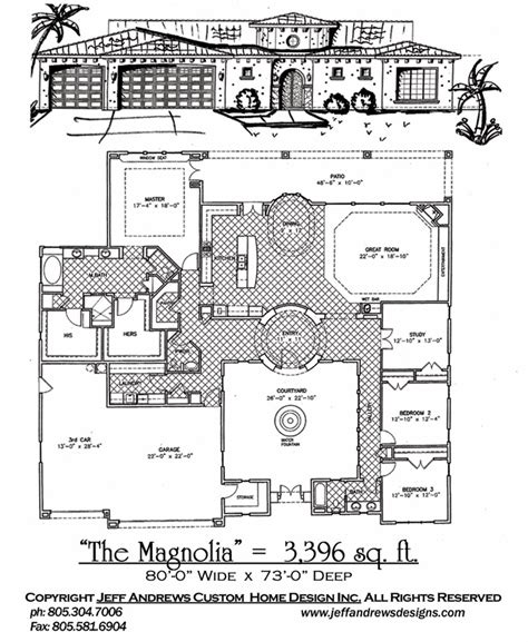 andrews home design group the magnolia 3 396 00 andrews home design group st