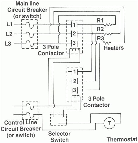 3 phase heater wiring diagram 3 phase electric duct heater
