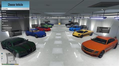 single player garage mods t 233 l 233 chargements gta 5