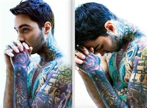 romeo lacoste gives a peak inside his inked up world