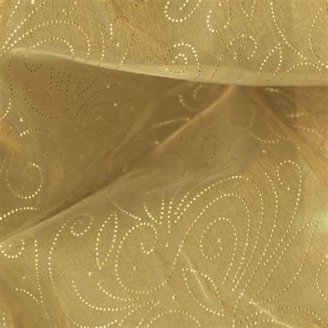 sheer fabric 56 sheer organza constellation golden discount