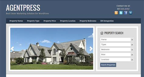 real estate wordpress templates best premium wordpress