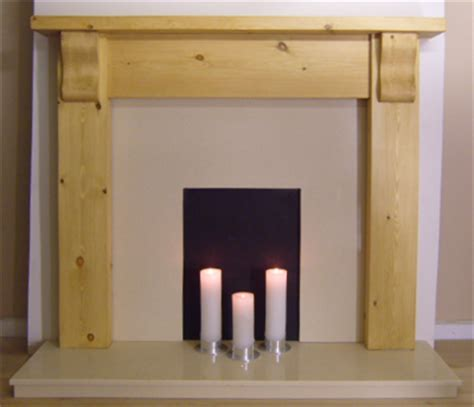 Pine Wood For Fireplace by Solid Pine Fireplace Firesurround Pine