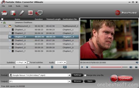 format converter nexus best playback video audio format for nexus 6 and nexus 9