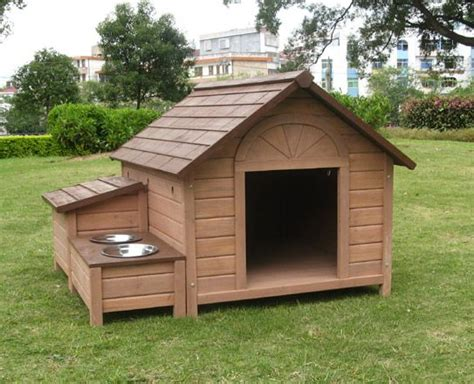 dog house wood object moved