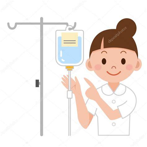 clipart infermiere prepara 231 227 o de soro de enfermeira vetores de stock