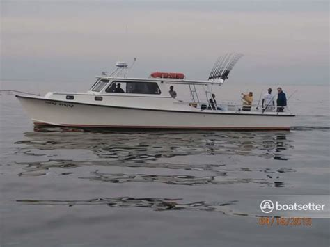 fishing boat captain job description rent a markley custom charter in deale md on boatbound