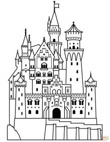 castle of color neuschwanstein castle clipart clipground