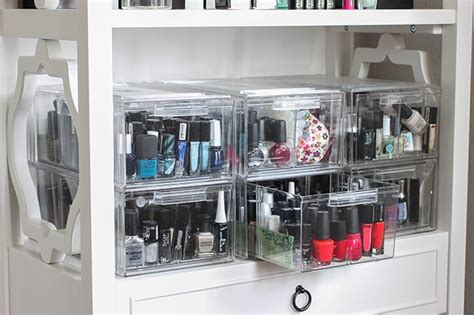 nagellack aufbewahrung schublade nail storage and more organizers fab fatale