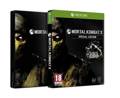 Edition Of One by Mortal Kombat X Special Edition Xbox One Arhiva Okazii Ro