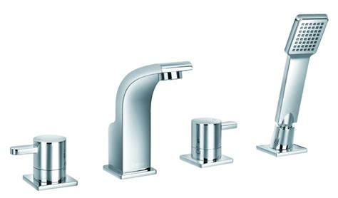 Jalo Faucet Review by Jalo Waven 4 Bath Faucet Chrome The Home Depot Canada