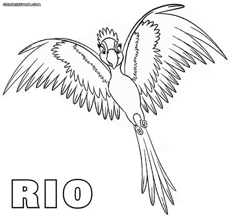 rio coloring pages coloring pages to download and print