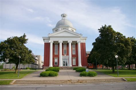 Orleans County | US Courthouses W G Clark Construction Co