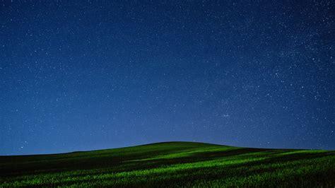 wallpaper meadows   wallpaper night stars sky
