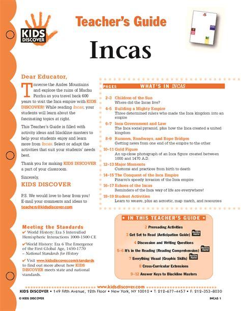incas a captivating guide to the history of the inca empire and civilization books incas discover