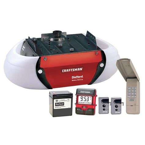 53918 craftsman 1 2hp belt drive garage door opener unit