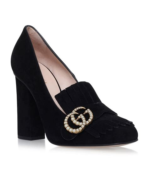 Gucci Marmont Pearl 678 Seprem gucci marmont pearl court shoes 105 in black lyst