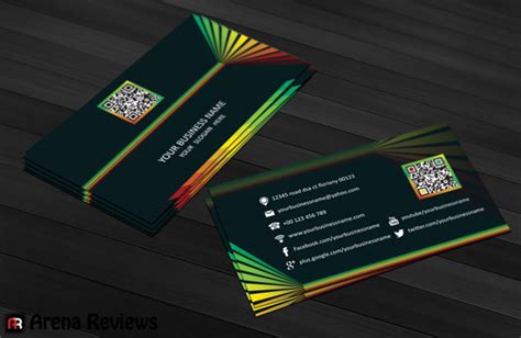modern cards modern business card template free download