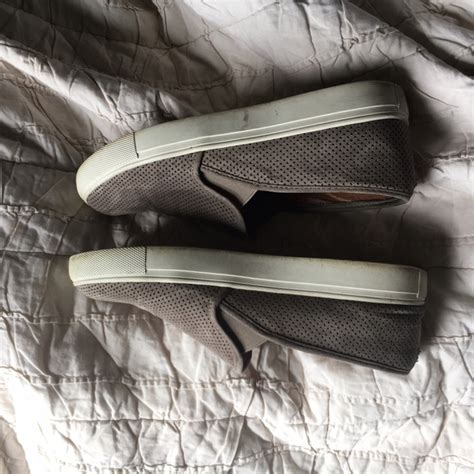 86 steve madden shoes steve madden zarayy suede taupe slip on sneakers from s closet