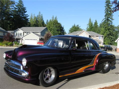 1951 chevrolet pro street business coupe for sale