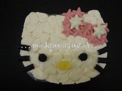 esta tarta es una mezcla de fondant y glaseado real m 225 s que az 250 car tarta chuches hello kitty