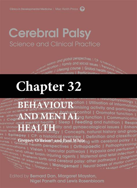 section 32 mental health cerebral palsy science and clinical practice chapter