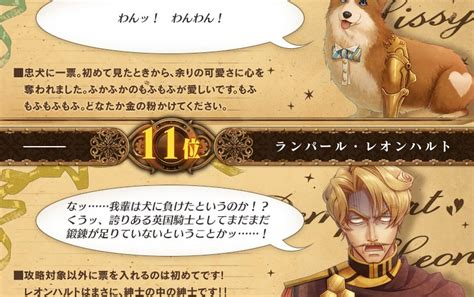 jp code code realize 創世の姫君 キャラクター人気投票結果発表