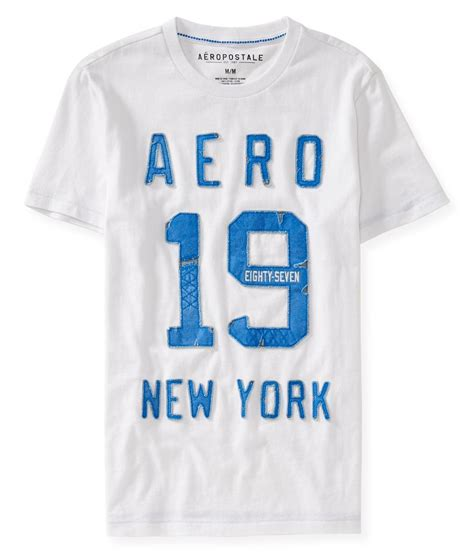 Aeropostale Newyork Tees Branded aeropostale mens 1987 new york graphic t shirt ebay