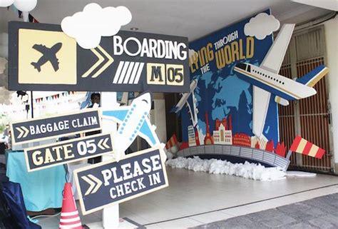 aviation themed events kara s party ideas airplane 5th birthday party kara s