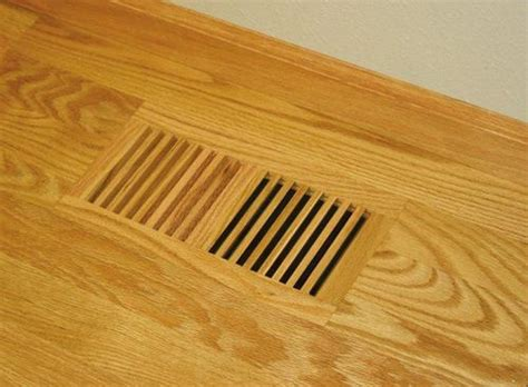 Wood Floor Vent Covers by 4 X 10 Wood Designs Flush No Frame Vent Cover Vent