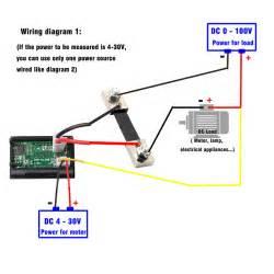 digital blue led voltmeter ammeter amp volt meter current shunt dc100v 100a tosave