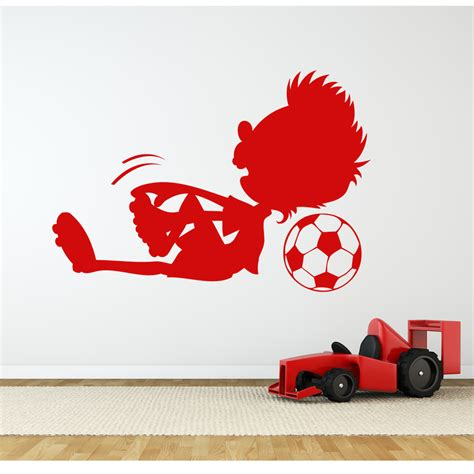football stickers for walls wallstickers folies football wall stickers
