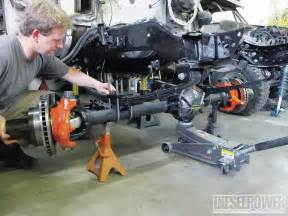 building a 60 front axle that ll never fail diesel