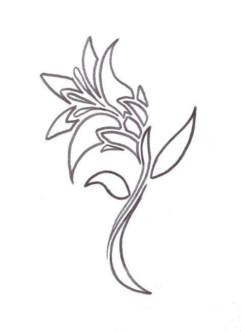 tattoo flower logo lily flower tattoo design by average sensation on deviantart