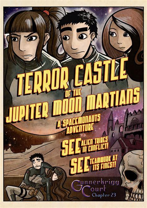 gunnerkrigg court vol 6 dissolve books chapter 23 terror castle of the jupiter moon martians