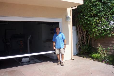 diy garage screen door