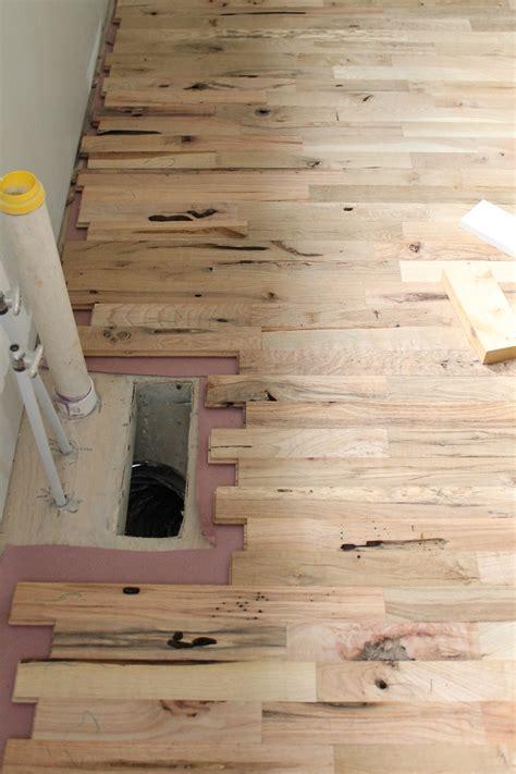 Utility Grade Oak Floors   Part Two   Myrtle House