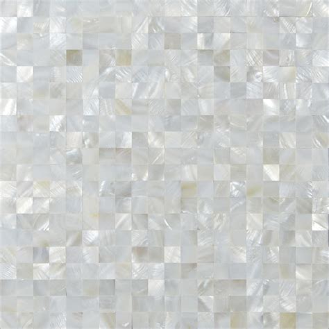 Kitchen Backsplash Ceramic Tile White Mother Of Pearl Shell Tiles Mosaic Sheets Seamless