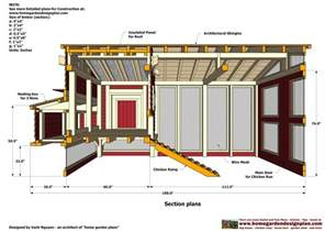 Chicken Coop Floor Plans Home Garden Plans M102 Chicken Coop Plans Construction