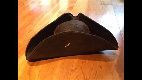 How To Make A Tricorn Hat Out Of Paper - how to make a pirate hat tricorn