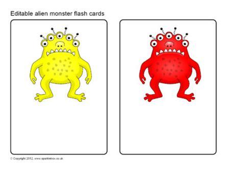 Flash Card Template Sparklebox by Editable Flash Cards Sb7989 Sparklebox