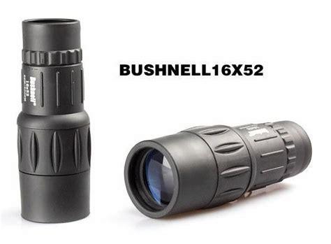 Teropong Bushnell Binocular 16x52 high definition monocular 16x image magnification teropong